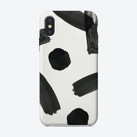 Brush Abstract iPhone Case