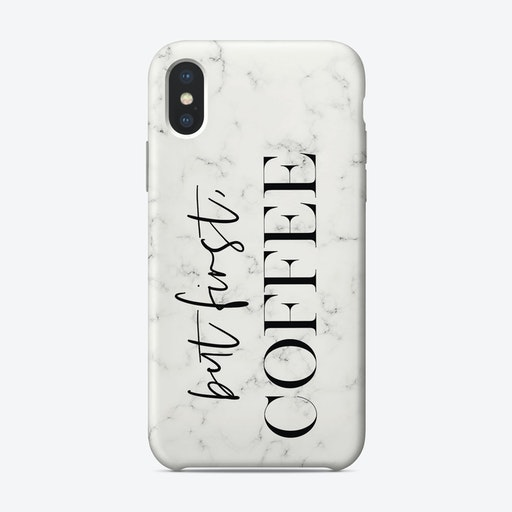 But First Coffee iPhone Case