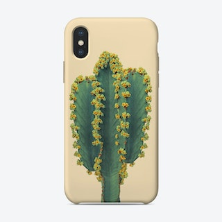 Cactus in Yellow iPhone Case