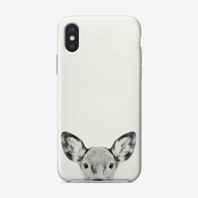 Doe B&W iPhone Case