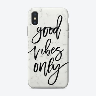 Good Vibes Only I iPhone Case