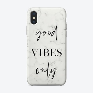 Good Vibes Only II iPhone Case