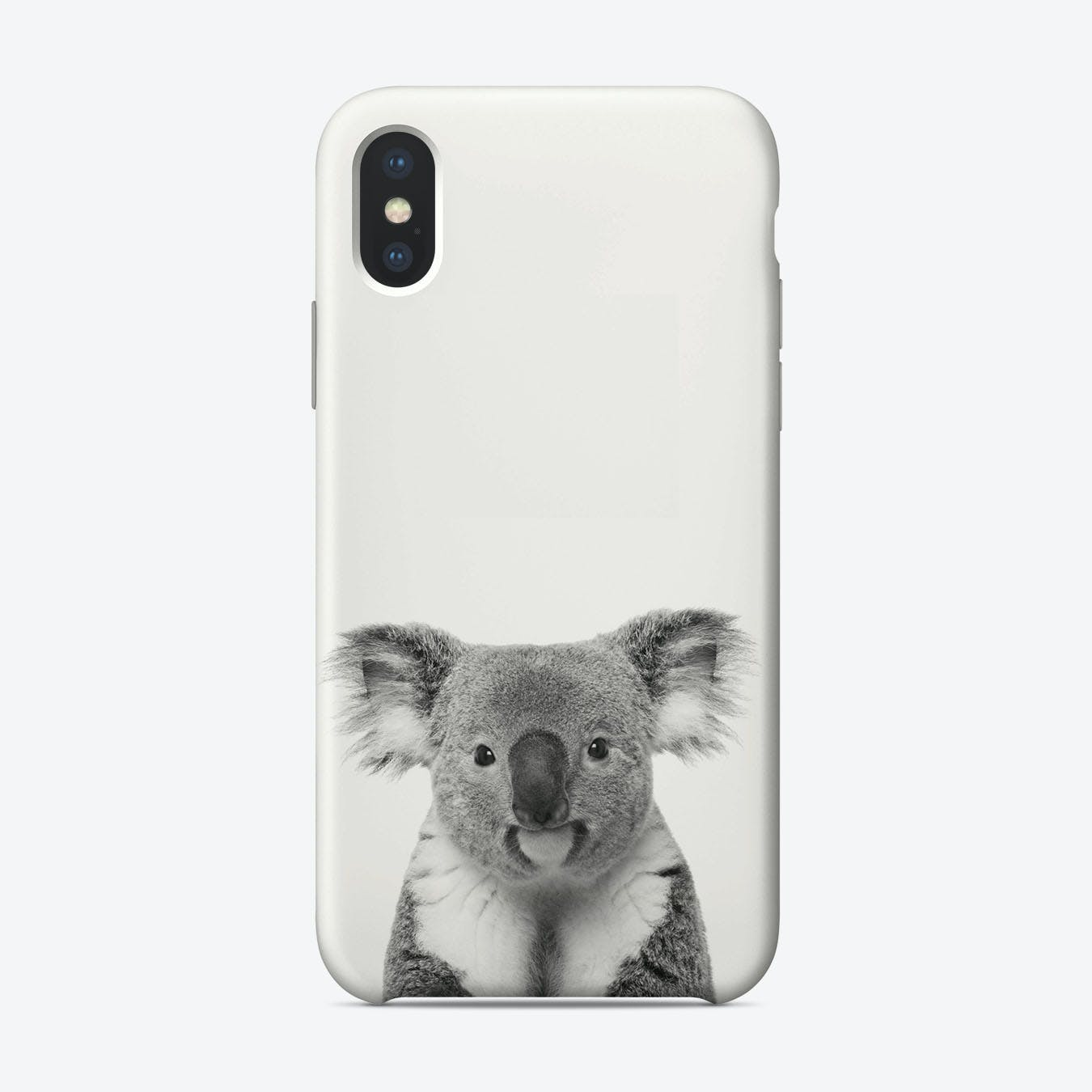 Koala B&W iPhone Case