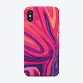 Liquid Art II iPhone Case