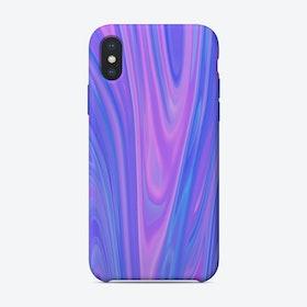 Liquid Purple Blue iPhone Case