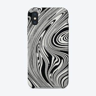 Liquid B&W iPhone Case