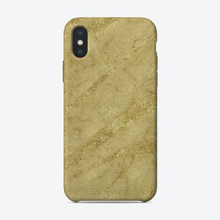 Gold Waves iPhone Case