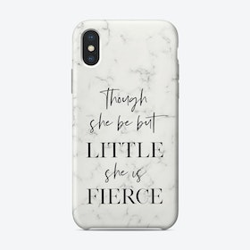 Little But Fierce II iPhone Case