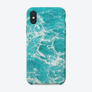 Marble Ocean Waves iPhone Case