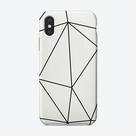 Minimalist Poly iPhone Case