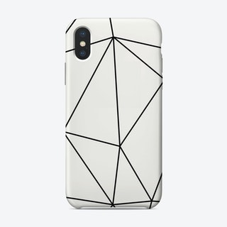 Minimalist Poly iPhone Case