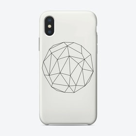 Circle of Lines iPhone Case