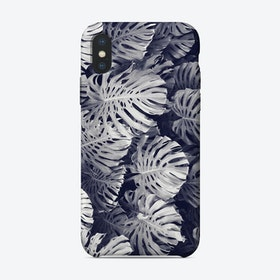 Monstera Two Tone iPhone Case