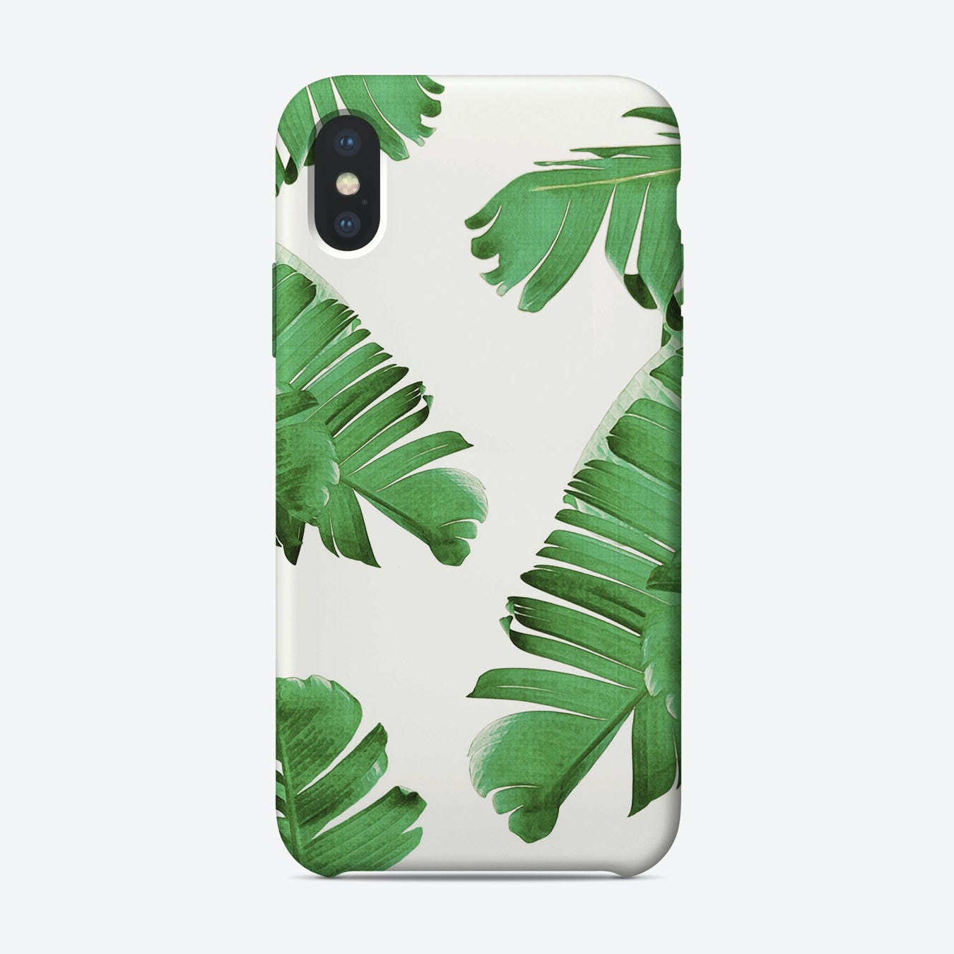 Palm Leaves I iPhone Case
