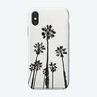 Palms B&W iPhone Case