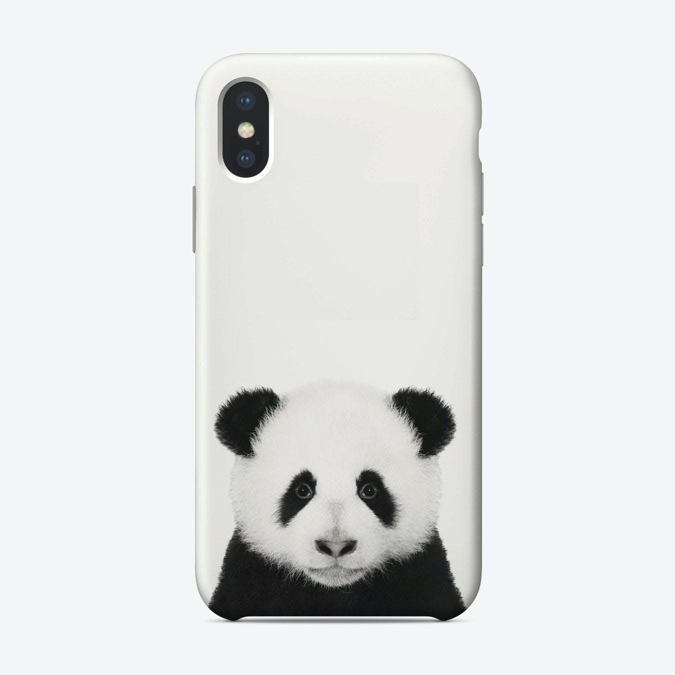 Panda B&W iPhone Case