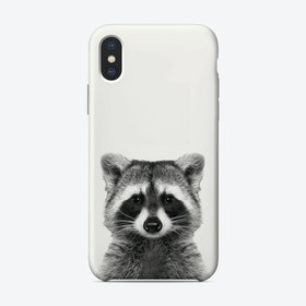 Raccoon iPhone Case