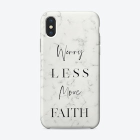 Work Hard And Be Nice iPhone Case