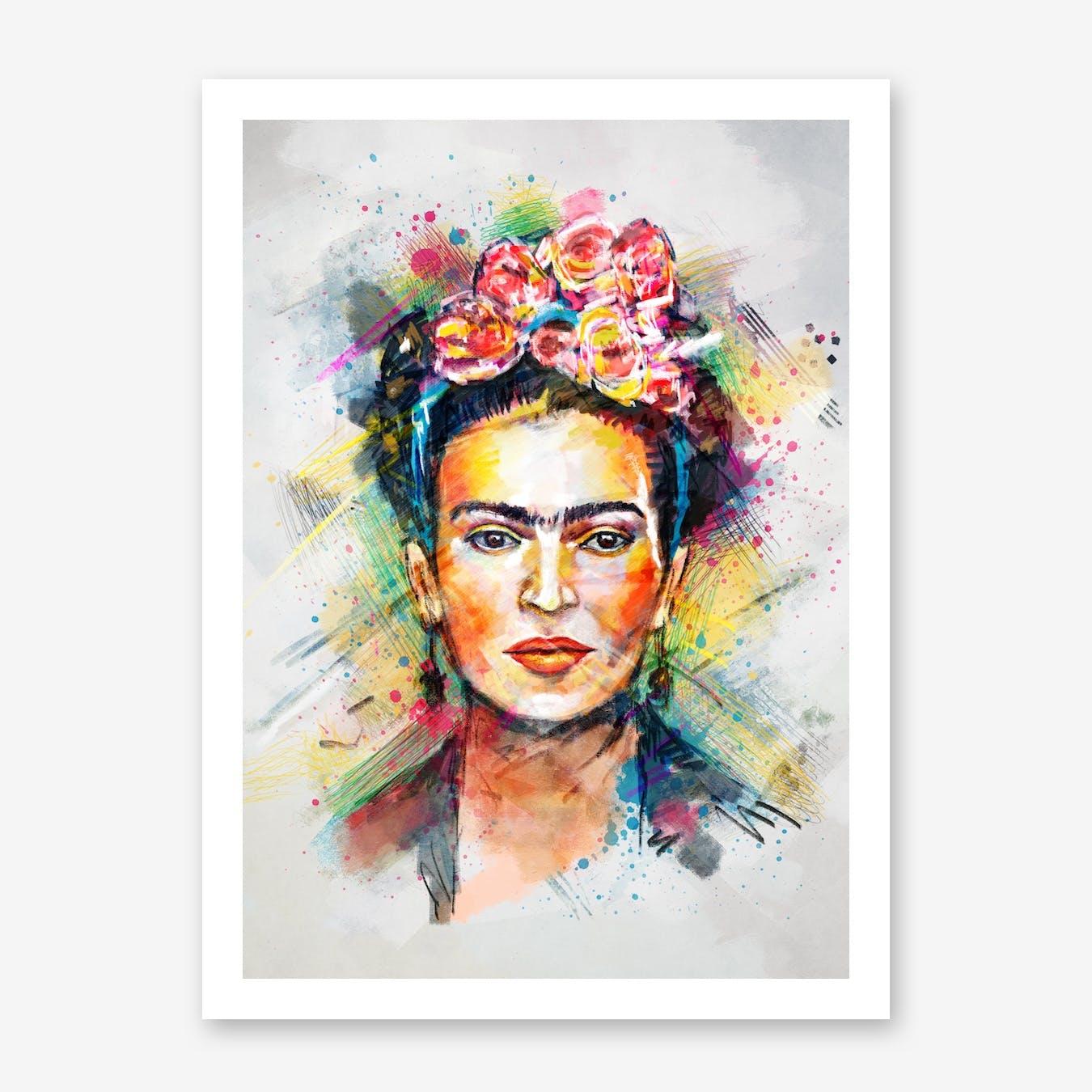 Frida Kahlo in Print