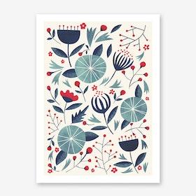 Juniper in Art Print