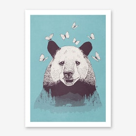 Lets Bear Friends in Art Print
