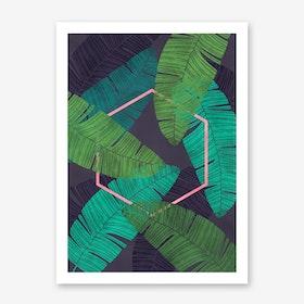 Mirage in Art Print