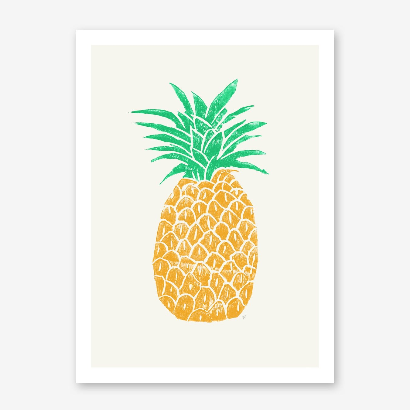 Pineapple in Print