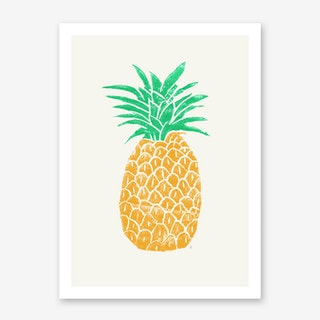 Pineapple in Art Print