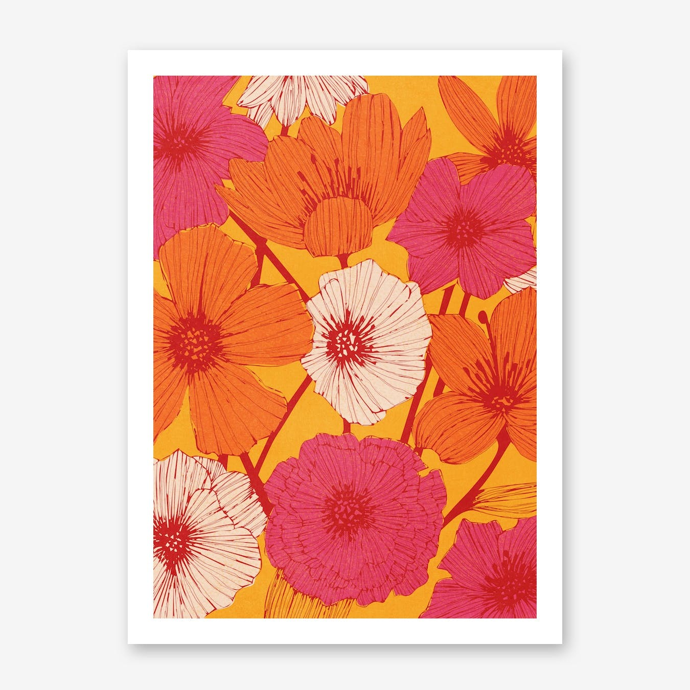 Summer Flowers in Print