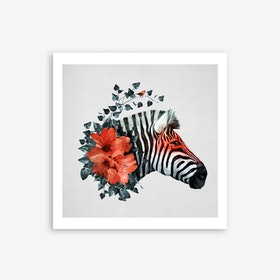 Untamed in Art Print