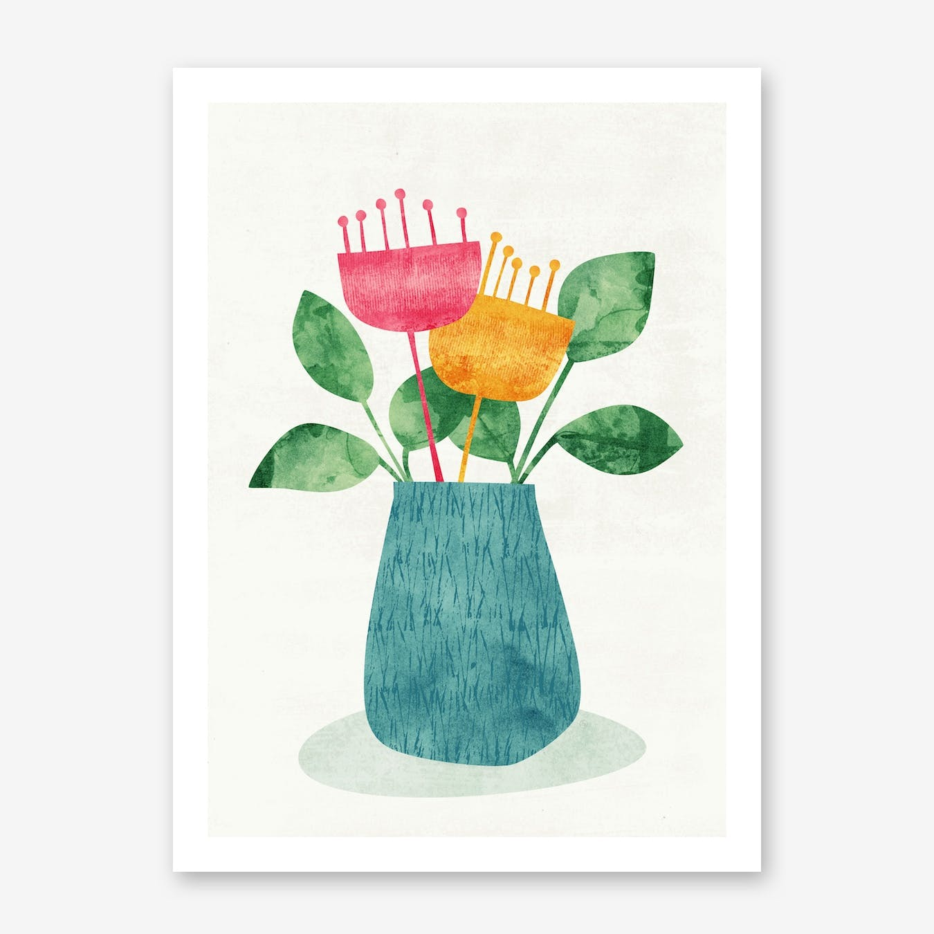 Bouquet in Print