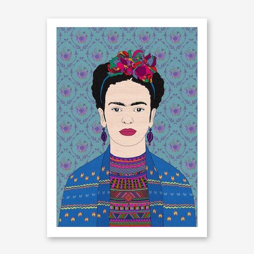 Frida Kahlo I in Print