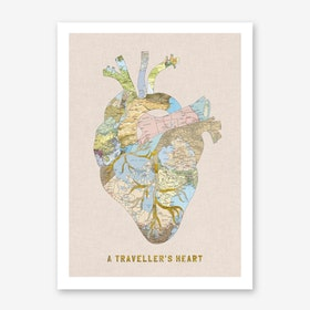 A Traveller's Heart + Type in Print