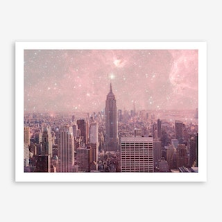 Stardust Covering NY in Art Print