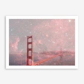 Stardust Covering SF in Art Print