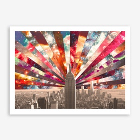 Superstar New York - horiz in Art Print