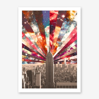 Superstar New York in Art Print