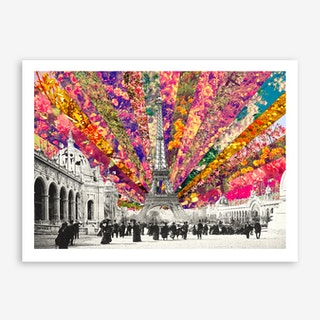 Vintage Paris - horiz in Art Print