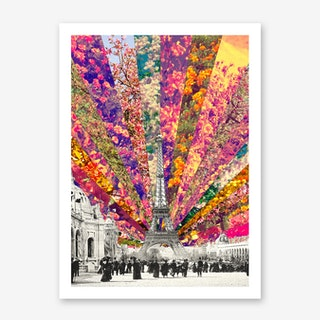 Vintage Paris in Art Print