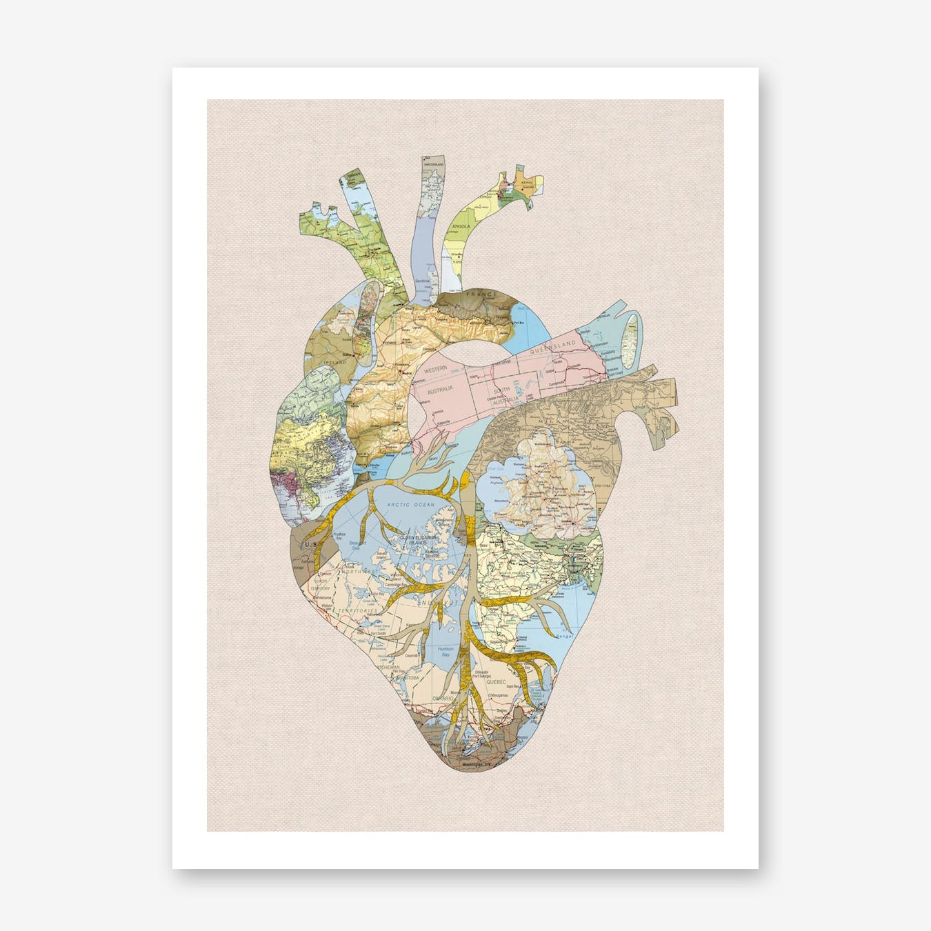 A Traveller's Heart in Print