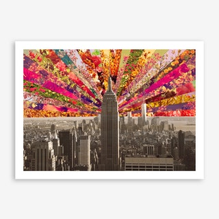 Blooming NY in Art Print