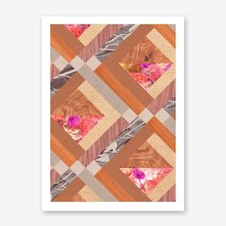 Cubed in Art Print