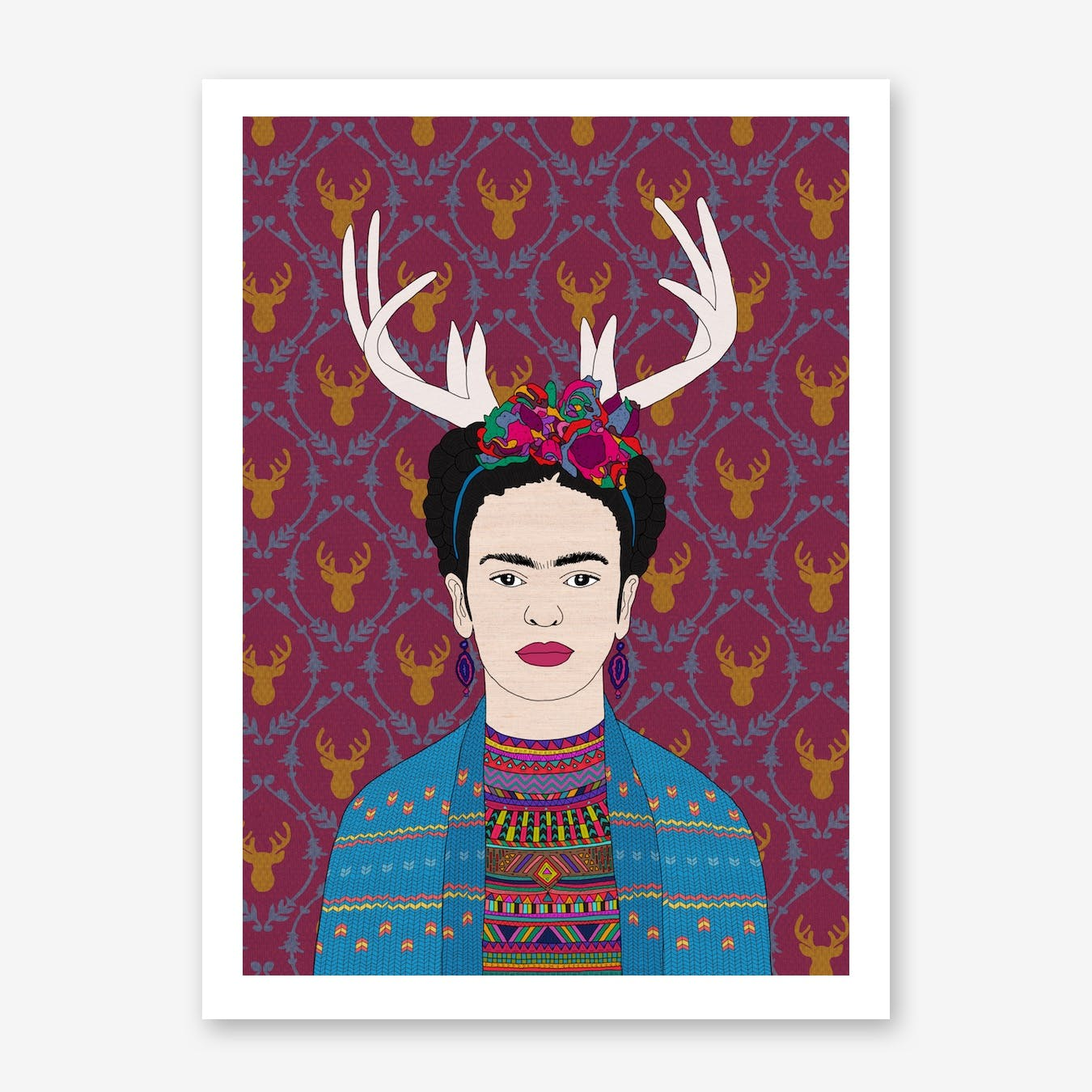 Deer Frida in Print