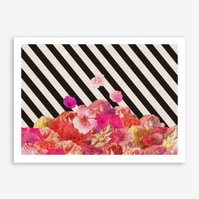 Floral Direction in Art Print