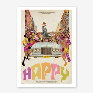 Happy Art Print