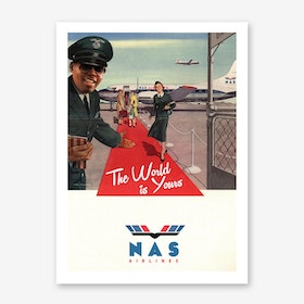 Nas Airlines Art Print