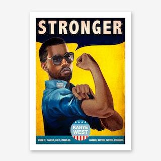 Stronger Art Print