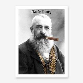 Claude Money Art Print
