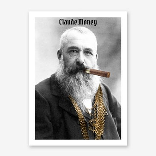 Claude Money Art Print