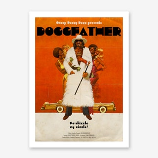 Dogg Father Art Print